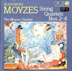 Alexander Moyzes - String Quartets CD